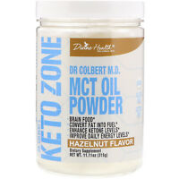 Divine Health  Dr  Colbert s Keto Zone  MCT Oil Powder  Hazelnut Flavor  11 11