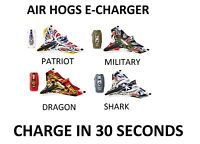 Air Hogs E Charger Plane 5+ Toy Patriot Shark Dragon Military RC IR Drone Play