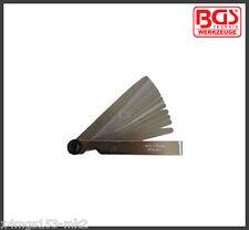 BGS - Werkzeug - 20 Blade Precision Feeler Gauges - Metric - Pro Range - 3083