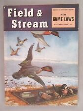 Field & Stream Magazine - September, 1950 ~~ New Game Laws  ~~ Field and Stream