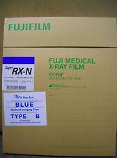 Fuji RX-N 14x17 X-ray Film (Blue Sensitive) - 100 sht box