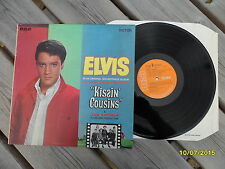 Elvis Presley Kissin Cousins LP 1970's UK orange label RCA Victor