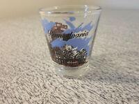 Pennsylvania Dutch Shot Glass