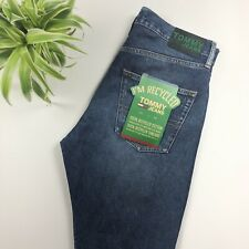 BNWT Tommy Hilfiger - Recycled Cotton Modern Tapered Jeans - Dark Blue - 31W 32L