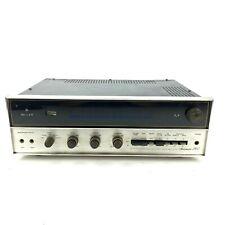 Vintage H.H. Scott Stereo Amplifier Receiver StereoMaster Model 344 Tested