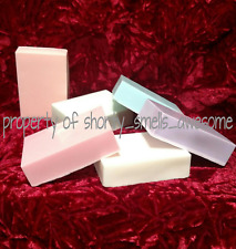 Soy Hand and Body Soap Bar x 2 Scented Choice Scent R-W