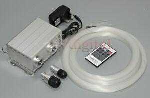 DIY fiber optic light kit twinkle & shooting stars optical fiber ceiling light