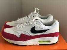 Nike Air Max 1 Black White Volt Rush Pink