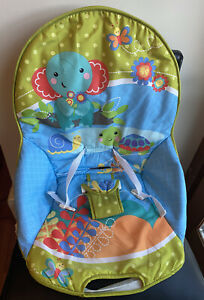 Fisher Price ELEPHANT FRIENDS Vibrating Rocker • Seat Cover Replacement Part