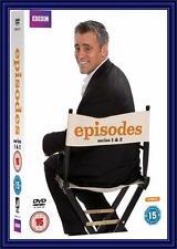 EPISODES - COMPLETE BBC SERIES 1 & 2 - Matt LeBlanc *BRAND NEW DVD **