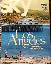July August 2016 Delta Airlines SKY Magazine Japan Edition Los Angeles Tokyo