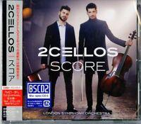 2CELLOS-SCORE-JAPAN BLU-SPEC CD2 BONUS TRACK Ltd/Ed F56