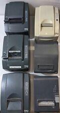 Lot Of 6 Thermal Receipt Pos Printer Ithaca Transact Epson Star