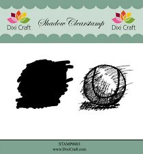 Dixi Crafts Clearstamp  Stamp TENNIS 2pc DCSTAMP0083