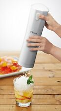 New Doshisha Electric Fluffy Shaved Ice Maker Cordless Battery Type Pearl White
