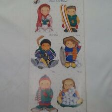 Winter Boys Dimple Street Gang SCRAPBOOKING Stickers by Tie Me To The Moon A67