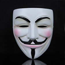 Guy Fawkes Maske V wie Vendetta Anonymus Anonymous Karneval Cosplay Fasching Neu