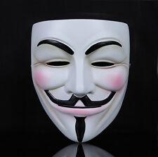 Guy Fawkes Maske V wie Vendetta Anonymus Anonymous Karneval Cosplay Fasching Neu