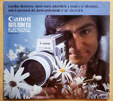 DEPLIANT Cinepresa CANON AUTOZOOM 814 ELECTRONIC
