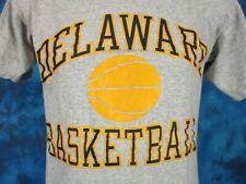 New listing vintage 90s University Of Delaware Blue Hens Basketball Champion T-Shirt S soft
