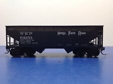 "HO Scale ""Nickel Plate Road"" NKP 64253 2-bay Open Hopper Freight Train / Athearn"