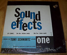 Tony Schwartz VINYL City Sounds Sound Effects FOLKWAYS Lp A++ FREE USA SHIPPING