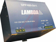 LAMBDA DPP480-24-1 Power Supply Input 115/230VAC Output 24VDC