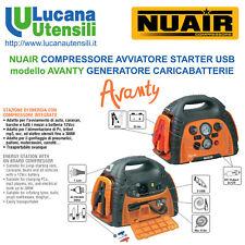 NUAIR COMPRESSORE AVVIATORE STARTER modello AVANTY GENERATORE CARICABATTERIE USB