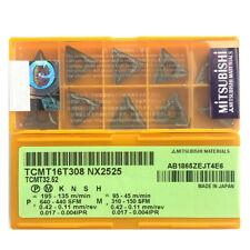 H●MITSUBISHI TCMT16T308 NX2525 Carbide Inserts CNC.