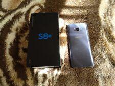 Samsung galaxy s8 plus mas fundas una de ellas funda cargador(pequeño golpe)