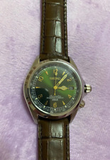 Refurbished Seiko SARB017 Mechanical Alpinist Leather discontinued Men's Watch