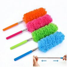 Microfiber Duster Cleaning Brush Extendable Telescopic Stick Ceiling Fan Cleaner