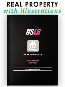 Bar Exam Flashcards for Real Property (MBE & Essay) by USLawReview