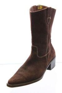 2 Bizzy Stiefel braun Nubuk Leder Gr. 42 (UK 8)