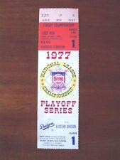 1977 NLC Game 1 Dodgers/Phillies 5/7-Loge Box Seat 6-Ron Cey Grand Slam-Nr Mint
