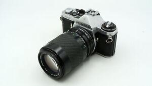 Pentax ME Starter Camera Kit + telephoto zoom lens - Great Value
