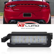 LED Number Rear License Plate Lights Lamp For Dodge Charger Challenger Chrysler