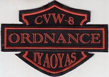 CVW-8 ORDNANCE  IYAOYAS PATCH