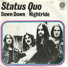 7inch STATUS QUO	down down	HOLLAND 1974 EX / WOC		  (S0482)