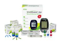 VivaGuard Blood Glucose Meter Bundle - Includes 100 Strips, 100 Lancets, Meter