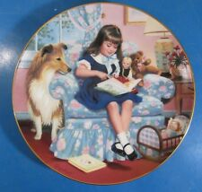 """Sunday's Child by Elaine Gignilliat Children Of The Week Plate 8-1/8"""" Diameter"""