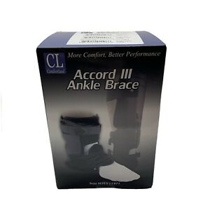 COMFORTLAND ACCORD III RIGHT ANKLE BRACE, SMALL,CL-301-2-R L1961, New Sealed Box