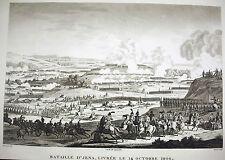 Bataille d'Iéna  Campagne de Prusse et Pologne Napoléon Bonaparte 1815 Swebach