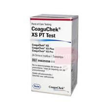 Roche Coaguchek - XS PT Test 24 Bandes Réactive - Activités Protrombinica