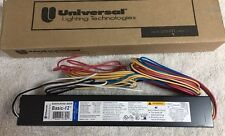 B295PUNVHE Universal Ballast Operates 1 or 2 Bulbs F96T12/HO Bulbs 120/277V