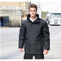 Result Work Guard Vostex Long Coat Mens Waterproof Parka Work Wear Jackets