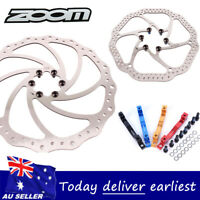ZOOM Hydraulic MTB Bike Disc Brake 160//180//203mm Disc Brake 6 Bolt Rotor CNC AU