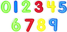Think Fast Toys - Translucent Durable Acrylic Numbers in Assorted Colors (Number