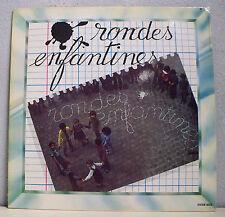 """33 tours RONDES ENFANTINES Disque LP 12"""" MALBROUCH S'EN VA T'EN GUERRE - S.DISCO"""