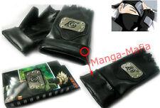 Naruto Kakashi Hatake Konoha Guanti ANIME MANGA COSPLAY COSTUME NUOVO!